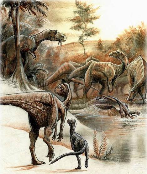 Egg Mountain - Hadosaurier