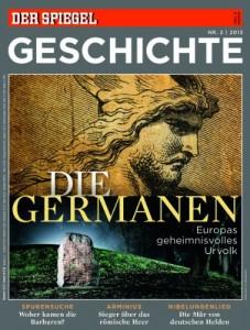 """Titelbild """"Der Spiegel - Geschichte"""" - """"Die Germanen"""""""
