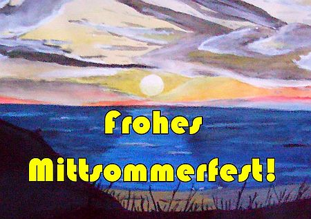 Frohes Mittsommerfest!